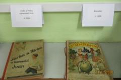 Čtvrťáci vystavovali knížky svých předků