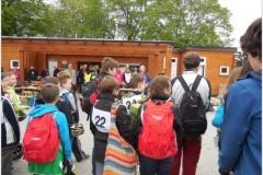 Dorpavní soutěž mladých cyklistů Hustopeče