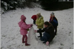 Hrajeme si na sněhu
