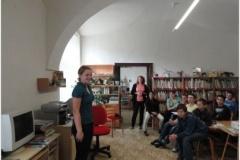 Návštěva knihovny a setkání se spisovatelkou