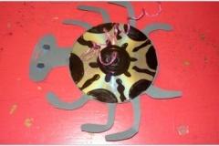 Recyklace PET lahví a CD