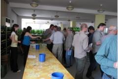 Školní košt vína v Kloboukách u Brna