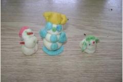 Sladké tvoření marcipánové figurky