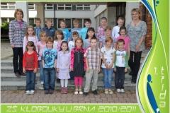 Třídy - 2010/2011