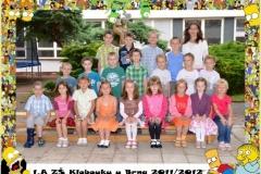 Třídy - 2011/2012