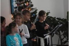 Vánoční besídka v Domu pokojného stáří