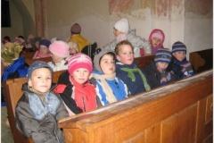 Vánoční zpívání v kapli sv. Barbory
