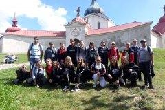 Školní výlet 7.B Nové Město na Moravě